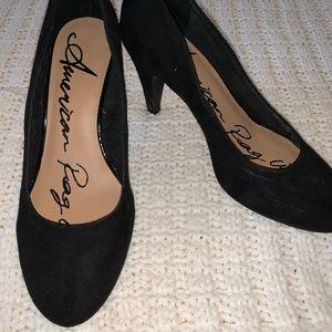Black Closed Toe Heels